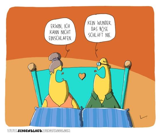 Thomas Luft, Cartoon, lustig, Das Böse